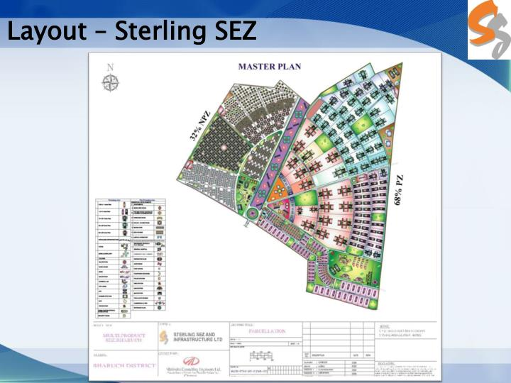 Layout – Sterling SEZ