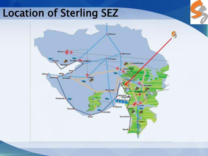 Location of Sterling SEZ