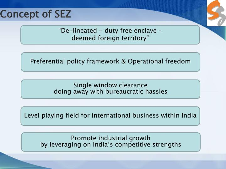 Concept of SEZ