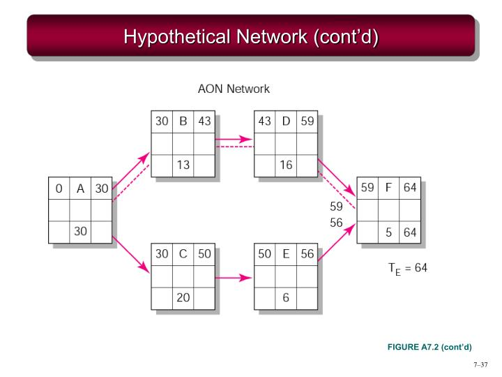 Hypothetical Network (cont'd)