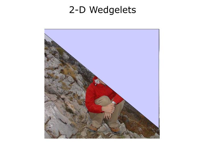 2-D Wedgelets