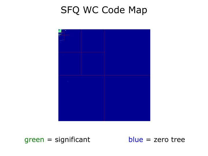SFQ WC Code Map