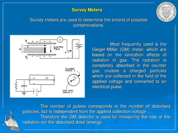 Survey Meters