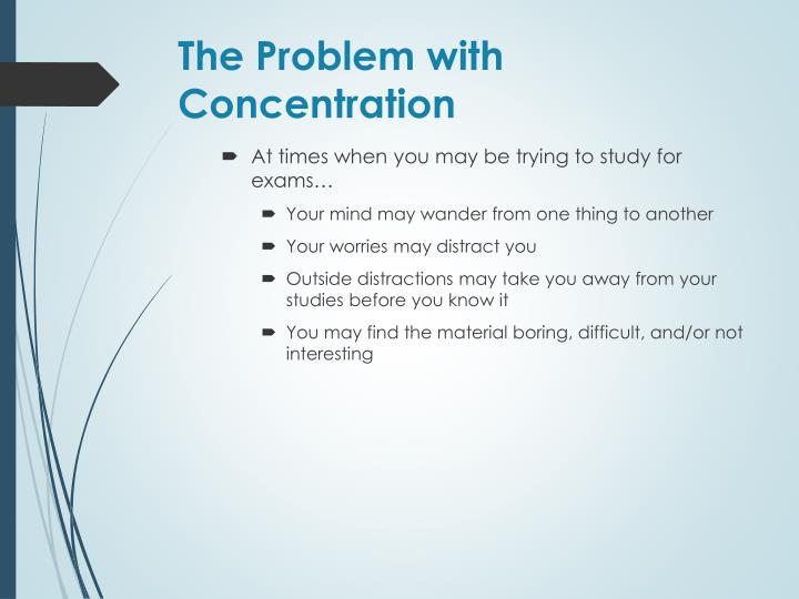 The Problem with Concentration