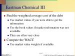 eastman chemical iii