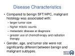 disease characteristics3