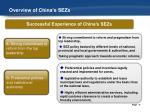 overview of china s sezs2