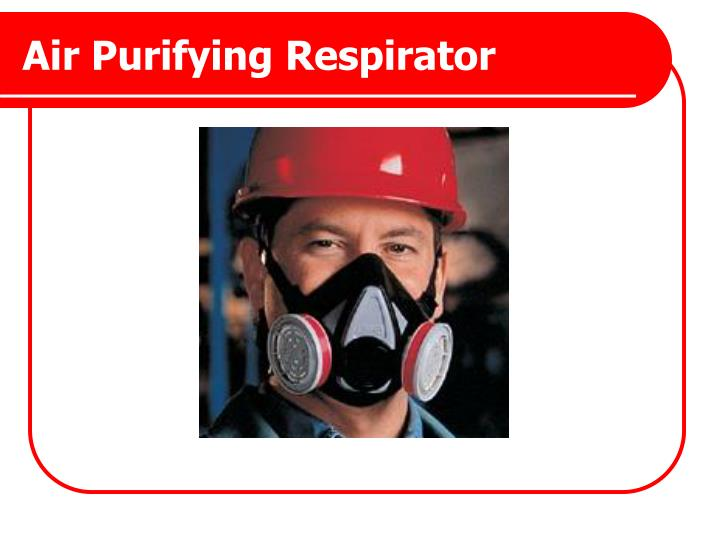 Air Purifying Respirator
