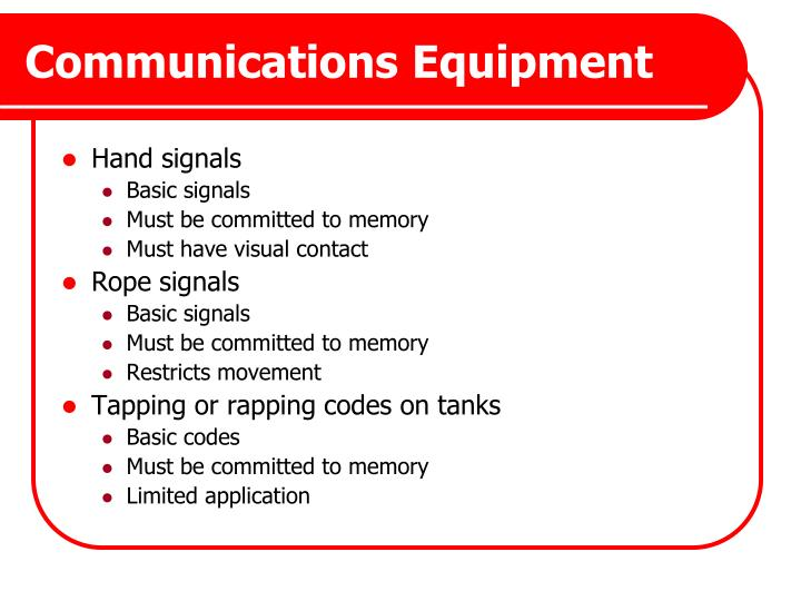 Communications Equipment