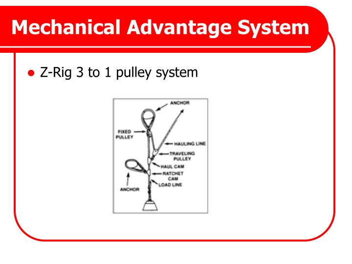 Mechanical Advantage System