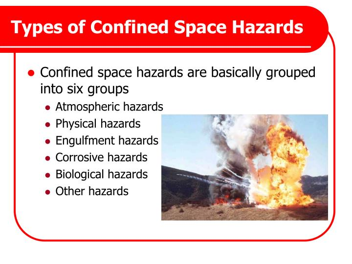 Types of Confined Space Hazards