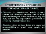 interpretation of findings1