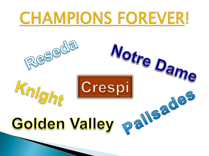 CHAMPIONS FOREVER