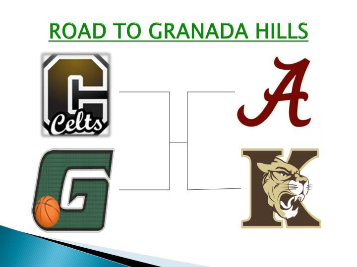 ROAD TO GRANADA HILLS