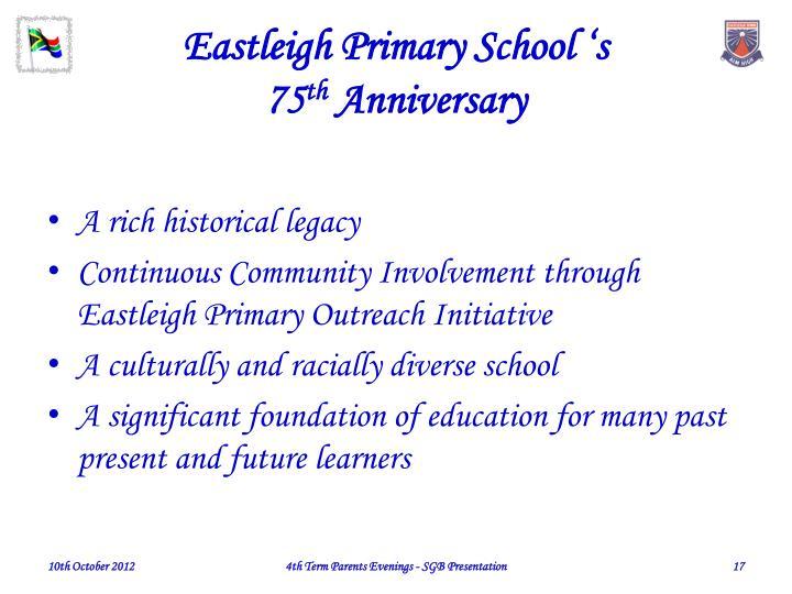Eastleigh Primary School 's