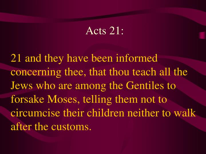 Acts 21: