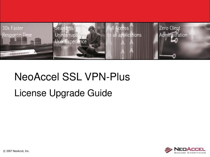NeoAccel SSL VPN-Plus