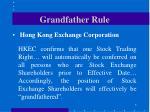 grandfather rule1