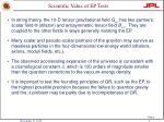 scientific value of ep tests