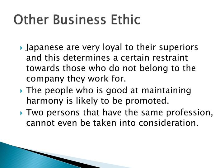Other Business Ethic
