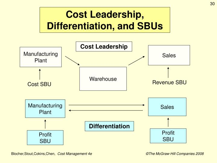Cost Leadership, Differentiation, and SBUs