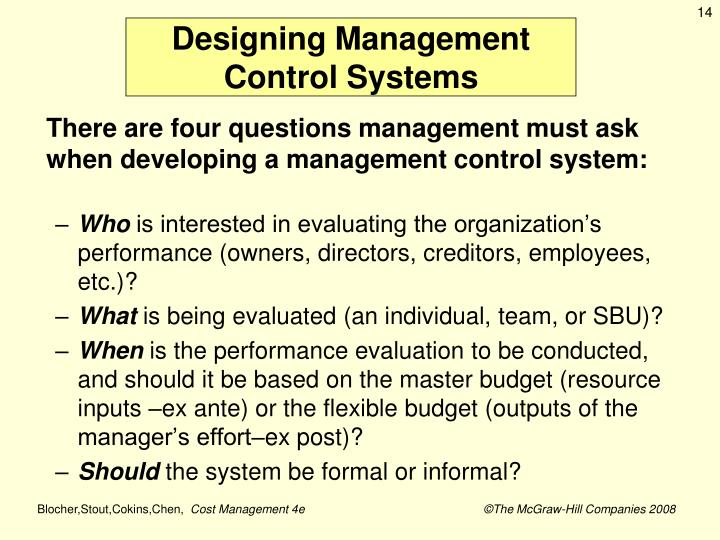 Designing Management
