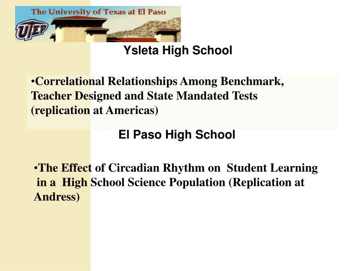 Ysleta High School