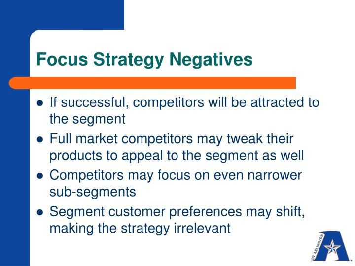 Focus Strategy Negatives