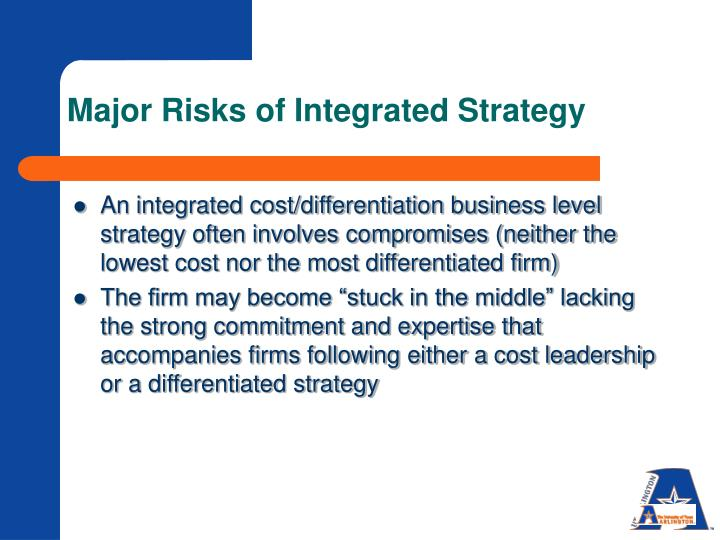 Major Risks of Integrated Strategy