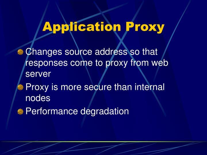 Application Proxy