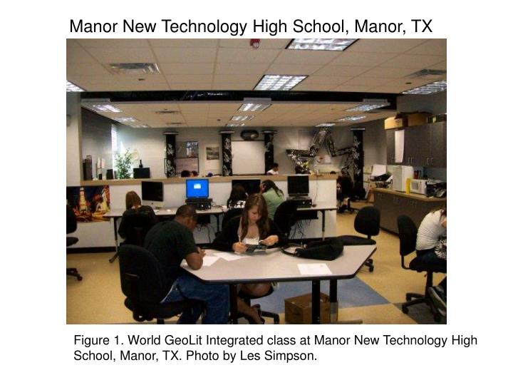 Manor New Technology High School, Manor, TX