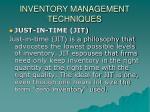 inventory management techniques1