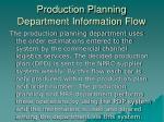 production planning department information flow1