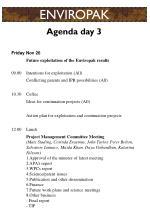 agenda day 3
