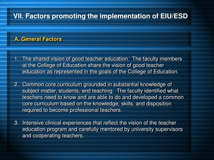 A. General Factors