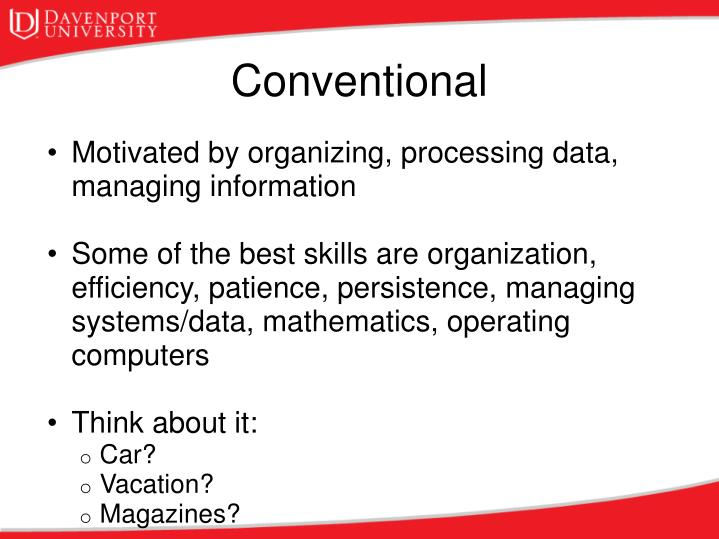 Motivated by organizing, processing data, managing information