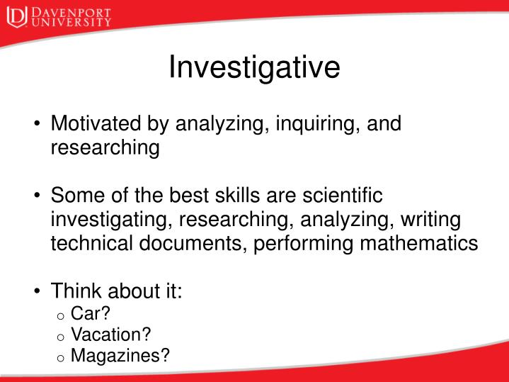 Motivated by analyzing, inquiring, and researching