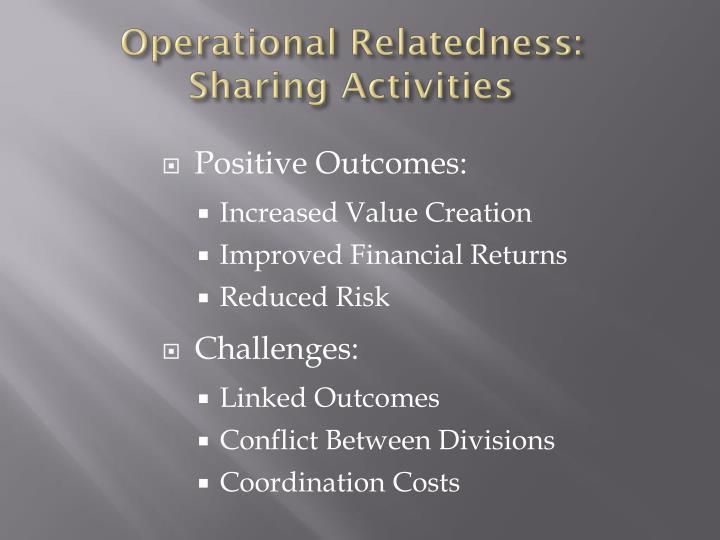 Operational Relatedness: