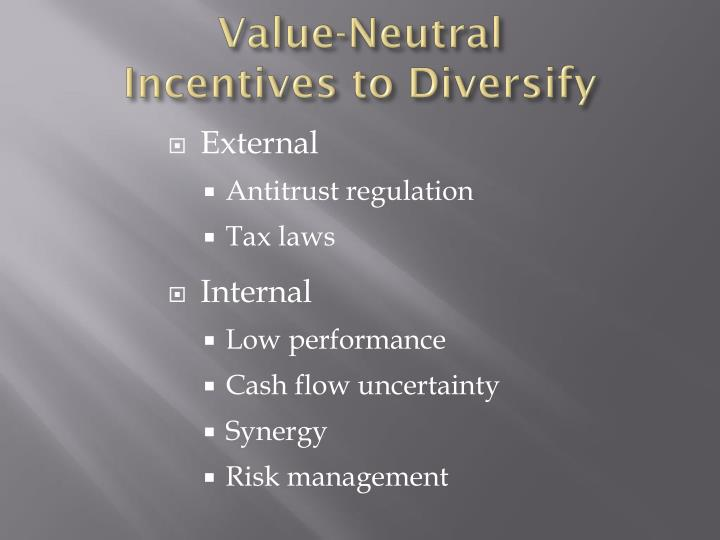 Value-Neutral