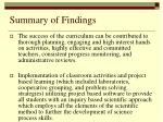 summary of findings2