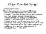 object oriented design1