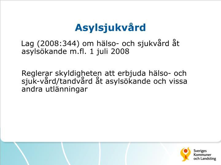 Asylsjukvård