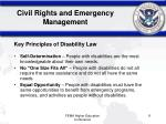 civil rights and emergency management2