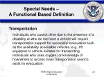 special needs a functional based definition1