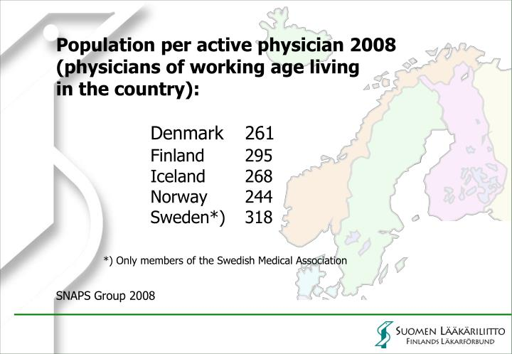 Population per active physician 2008
