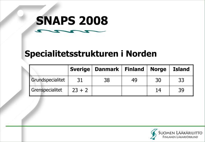 SNAPS 2008