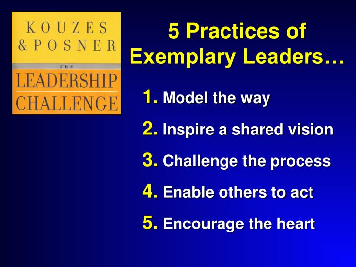 5 Practices of Exemplary Leaders…