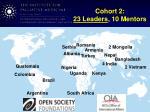 cohort 2 23 leaders 10 mentors