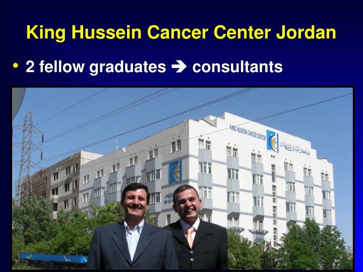 King Hussein Cancer Center Jordan