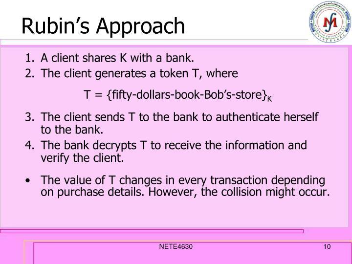 Rubin's Approach